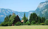 Valley At Stara Fuzina, Slovenia