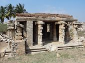Temple Remains Around Hampi