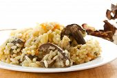 Pilaf With Mushrooms