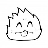 cute furry little animal cartoon poster