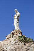Ermita de la Virgen de la Pena statue Mijas