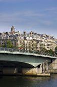 Pont d'Alma bridge in Paris by day