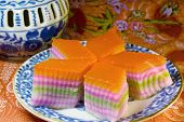 Kow Chan Kuih - Nine Layer Cake