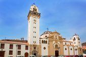 Basílica de Candelaria iglesia en Tenerife, en Canarias
