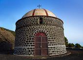 Ermita santa Cecilia Fuencaliente Igreja na ilha canária de La Palma
