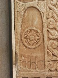 picture of asoka  - Relief of Buddha - JPG