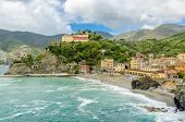 Colorful view at Monterosso Al Mare, Cinque Terre, Italy