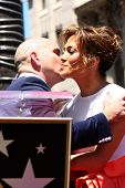LOS ANGELES - JUN 20:  Pitbull, Jennifer Lopez at the Hollywood Walk of Fame star ceremony for Jenni