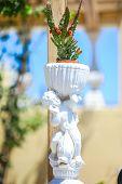 Art Charming Small Greek Details At Greek Streets On Santorini