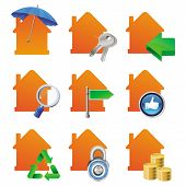 Vector Real Estate Cocnept - House Icons