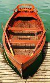Boats on Bled Lake, Lake Bled, Slovenia