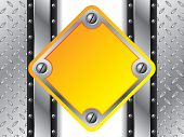 Metallic Yellow Plate