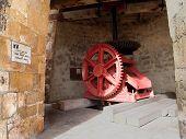 Old Windmill At Bettys Hope Plantation On Antigua Barbuda