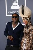 Lil Wayne and Nicki Minaj at the 53rd Annual Grammy Awards, Staples Center, Los Angeles, CA. 02-13-11