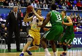 Basketball Eurocup Game Between Budivelnik Kyiv And Union Olimpija