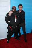Cee-Lo Green, Adam Levine at the NBCUNIVERSAL Press Tour All-Star Party, The Athenaeum, Pasadena, CA 01-06-12