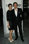 Colin Firth and wife at the Tom Ford Beverly Hills Store Opening, Tom Ford, Beverly Hills, CA. 02-24-11