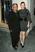 Cheech Marin and Wife at the Tom Ford Beverly Hills Store Opening, Tom Ford, Beverly Hills, CA. 02-24-11