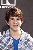 Zachary Gordon at Cartoon Network's first ever
