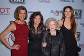 Wendy Malick, Valerie Bertinelli, Betty White, Janes Leeves at the