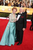 Ernest Borgnine and wife at the 17th Annual Screen Actors Guild Awards, Shrine Auditorium, Los Angel