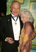 Buzz Aldrin and Lois Aldrin at HBO's 68th Annual Golden Globe Awards Official After Party, Circa 55