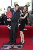 Adam Sandler, Jackie Sandler, Sadie Sandler, Sunny Sandler  at Adam Sandler's Star on the Hollywood