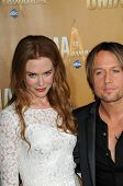 Nicole Kidman and Keith Urban at the 44th Annual CMA Awards, Bridgestone Arena, Nashville, TN.  11-1