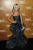 Carrie Underwood at the 44th Annual CMA Awards, Bridgestone Arena, Nashville, TN.  11-10-10