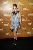 LeAnn Rimes at the 44th Annual CMA Awards, Bridgestone Arena, Nashville, TN.  11-10-10