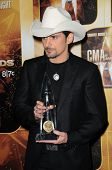 Brad Paisley at the 44th Annual CMA Awards, Bridgestone Arena, Nashville, TN.  11-10-10