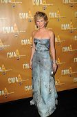 Jennifer Nettles at the 44th Annual CMA Awards, Bridgestone Arena, Nashville, TN.  11-10-10