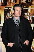 Blake Shelton at the 44th Annual CMA Awards, Bridgestone Arena, Nashville, TN.  11-10-10