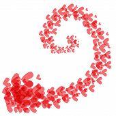 Swirl Of Hearts
