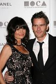 Rosetta Getty and Balthazar Getty at MOCA's Annual Gala