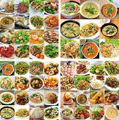 picture of gourmet food  - Thai cuisine Delicious Food for healthy eating - JPG