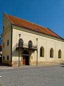The old Jewish part of the city Boskovice.