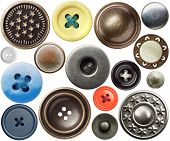 Various sewing buttons.