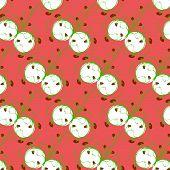Sample Pattern  Rhythmic Green Strawberries  Tilting The Right Plants..eps