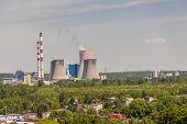 Thermal Power Station - Lagisza, Poland, Europe.