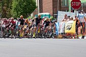 Racers Atop Chilkoot In Stillwater Criterium