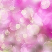 Pink Festive background with lights