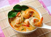 stock photo of thai cuisine  - Tom Yam Kung  - JPG