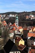 View Of St. Jost Church In Cesky Krumlov