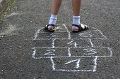 foto of hopscotch  - Hopscotch  - JPG