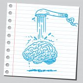 Brain and shower