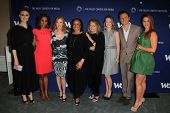LOS ANGELES - JUN 19:  Deschanel, Peete, Helgenberger, Merkerson, Dickinson,  Ireland, Tony Goldwyn,