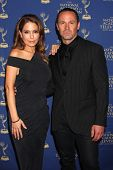 LOS ANGELES - JUN 20:  Lisa LoCicero, William deVry at the 2014 Creative Daytime Emmy Awards at the