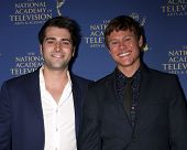 LOS ANGELES - JUN 20:  Freddie Smith, Guy Wilson at the 2014 Creative Daytime Emmy Awards at the Bon