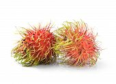 Fresh Rambutan Sweet Delicious Fruit Of Thailand